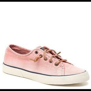 Sperry Pier View Pink Ombré Slip on Sneaker